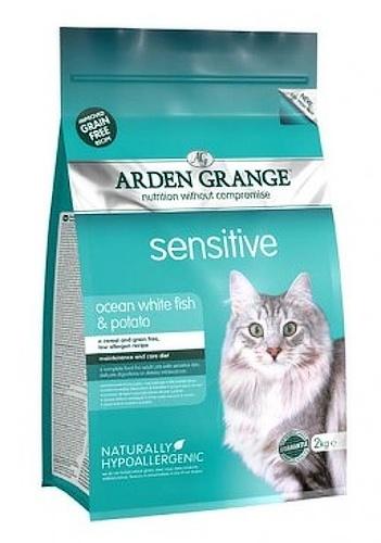 Arden Grange Sensitive white fish and potato 4kg