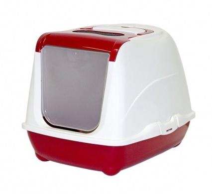 Toaleta Flip CAT červená