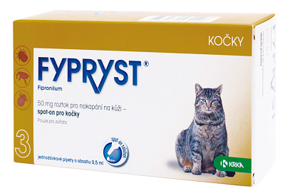 Fypryst Cat spot-on 1x0,5ml