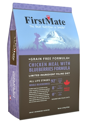 FirstMate Chicken Meal with Blueberries Cat 4,54kg