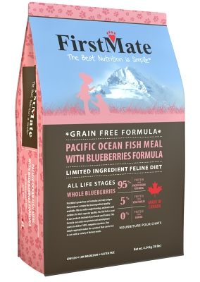 FirstMate Pacific Ocean Fish with Blueberries Cat 4,54kg
