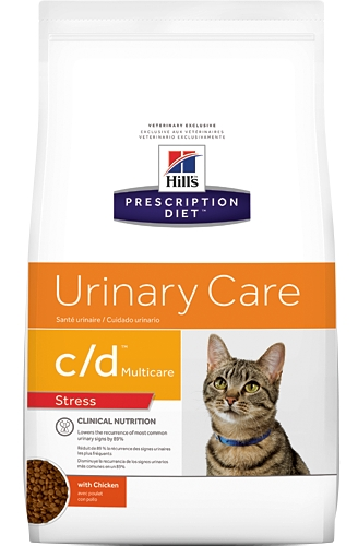 Hill's Feline C/D Urinary Stress 4kg