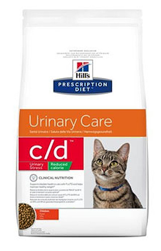 Hill's Feline C/D Urinary Stress Reduced Cal.4kg