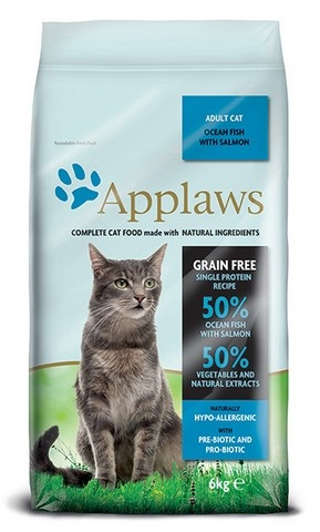 APPLAWS Cat Ocean Fish & Salmon 6kg