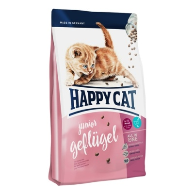 HAPPY CAT Junior Geflügel 4kg