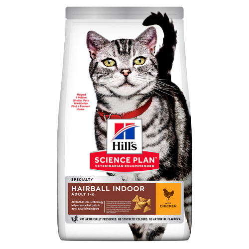 Hill's Feline Hairball Indoor 10kg