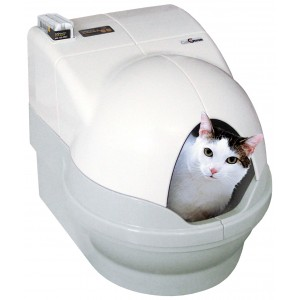 Robotická toaleta CatGenie 120+ s poklopem