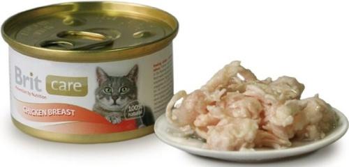 BRIT CARE Cat 80g kuřecí prsa