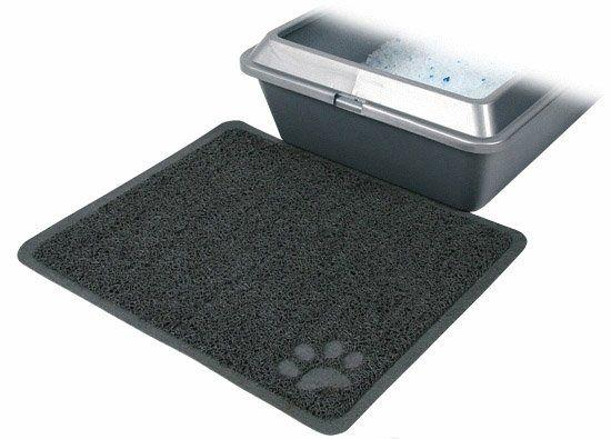 PVC předložka k WC pro kočky
