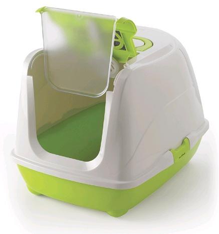 Toaleta Flip CAT zelená