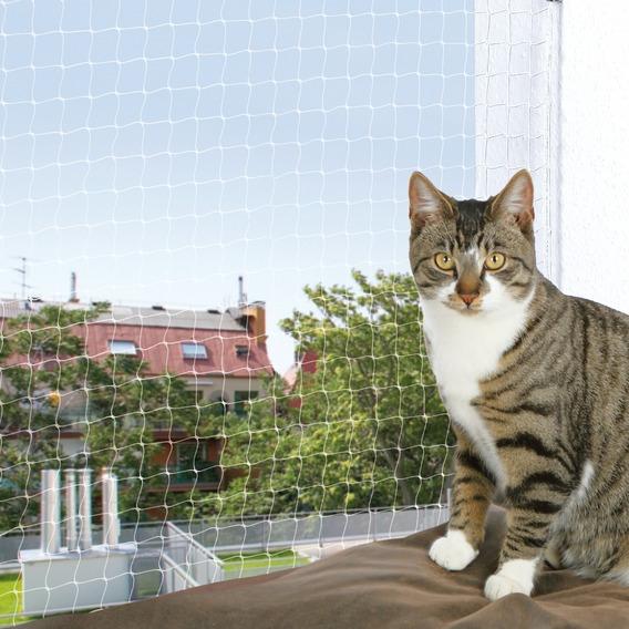 Ochranná síť pro kočky 4x3m