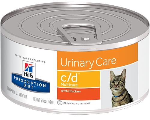 Hill's Feline C/D 156 hrubě mletá