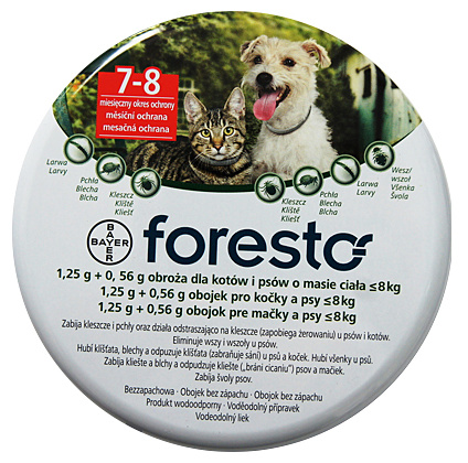 Foresto obojek pro kočky