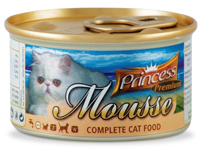 Princess Mousse 85g srdíčka a kuřecí játra