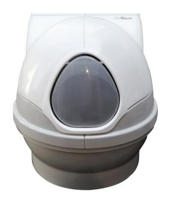 Průhledná dvířka k poklopu toalety Catgenie