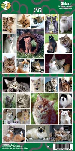Samolepky Kočky
