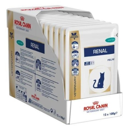 Royal Canin Feline Renal 12x85g tuňák