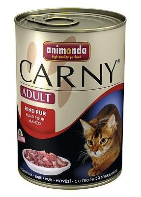 Animonda Carny Adult 400g hovězí