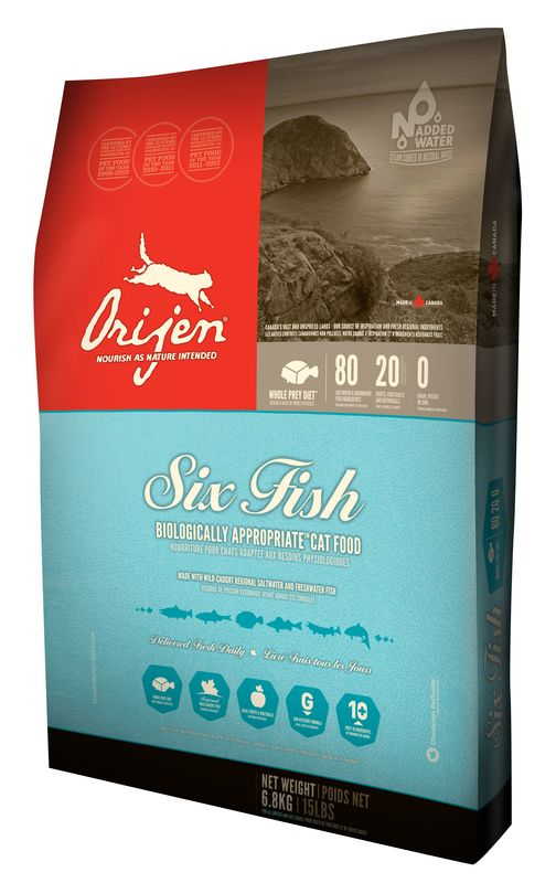ORIJEN Cat 6 Fish 2,27kg