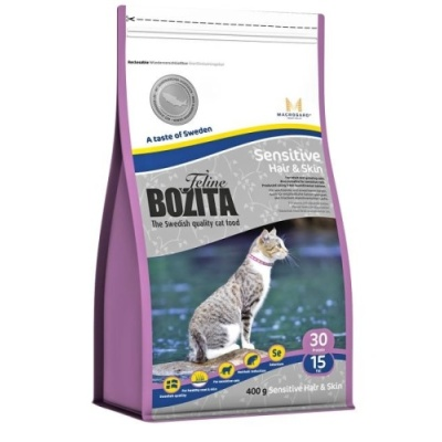 Bozita Feline Funktion Sensitive Hair & Skin 400g