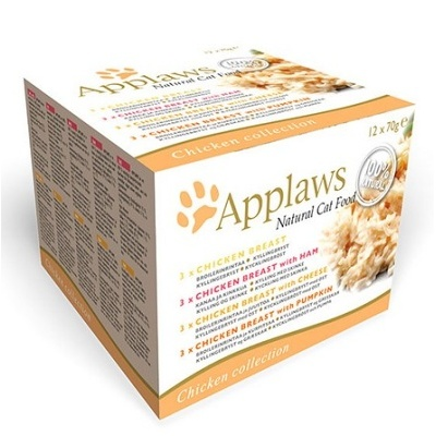 APPLAWS MultiPack Chicken DeLuxe 12x70g