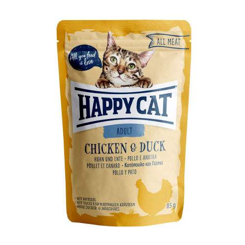 Happy Cat All Meat Adult Huhn & Ente 85g