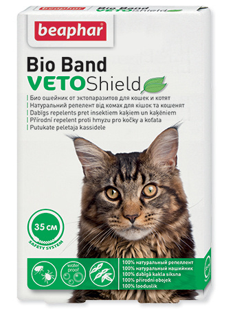 Obojek antiparazitní Bio Band Veto Shield