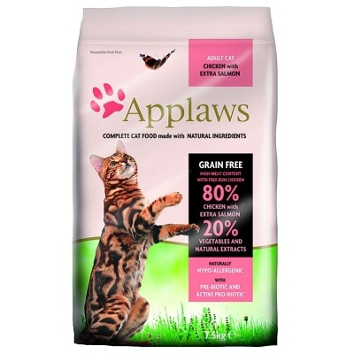 APPLAWS Cat Chicken & Salmon 400g