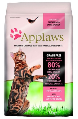 APPLAWS Cat Chicken & Salmon 2kg