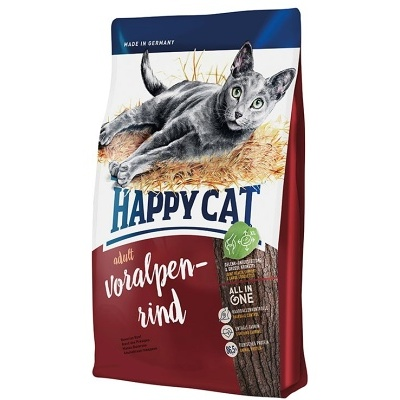 HAPPY CAT Supreme Adult Voralpen-Rind 4kg