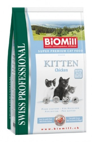 BIOMILL Cat Kitten 10kg