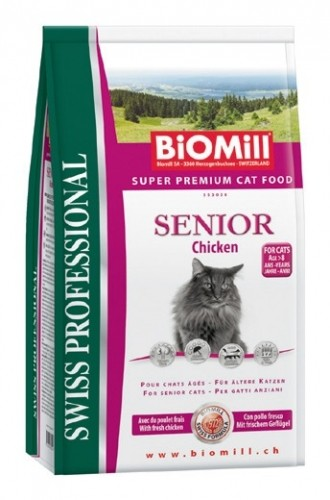 BIOMILL Cat Senior 10kg