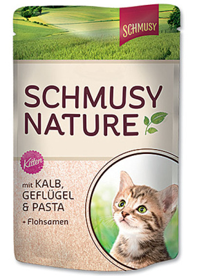 SCHMUSY Nature´s Menu Junior 100g telecí, drůbež