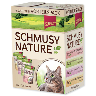 SCHMUSY Nature´s Menu multipack 12x100g