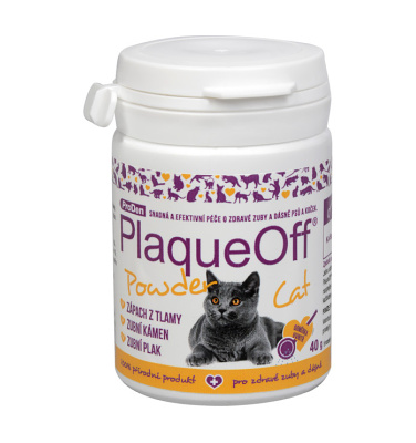PlaqueOff Cat 40g