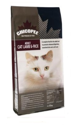 CHICOPEE Adult Cat Lamb & rice 15kg