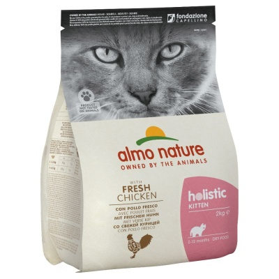 ALMO NATURE Holistic Kitten kuře 2kg