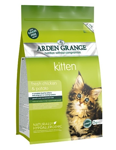 Arden Grange Kitten fresh chicken & potato 400g