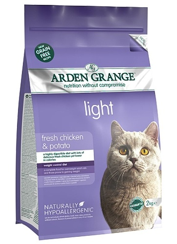 Arden Grange Cat Light fresh chicken & potato 2kg