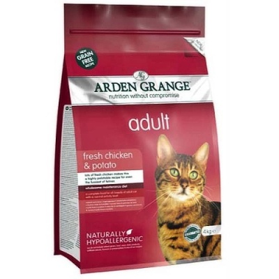 Arden Grange Cat Adult fresh chicken & potato 4kg