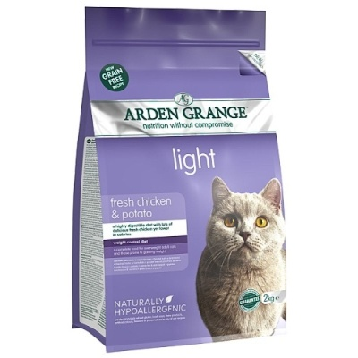 Arden Grange Cat Light fresh chicken & potato 4kg
