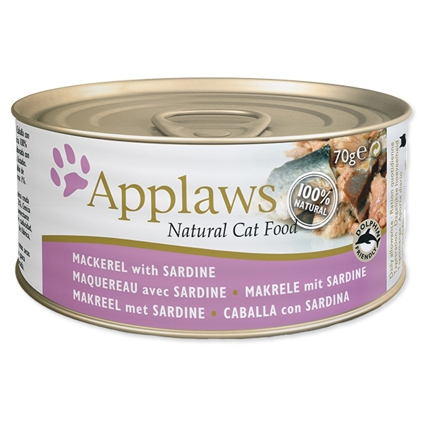 APPLAWS 70g makrela a sardinka