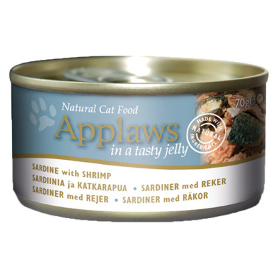 APPLAWS Jelly 70g sardinka a krevety