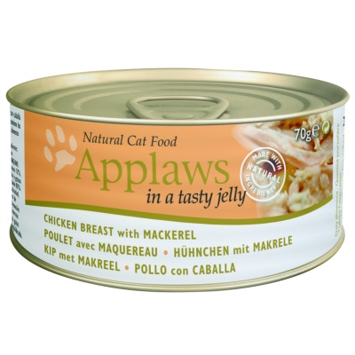 APPLAWS Jelly 70g kuře a makrela