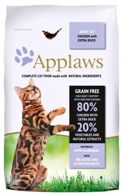 APPLAWS Cat Chicken & Duck 400g