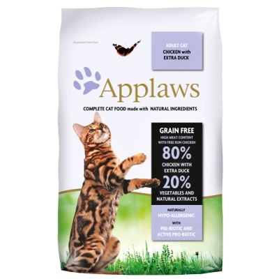 APPLAWS Cat Chicken & Duck 2kg
