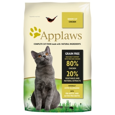 APPLAWS Cat Senior Chicken 2kg