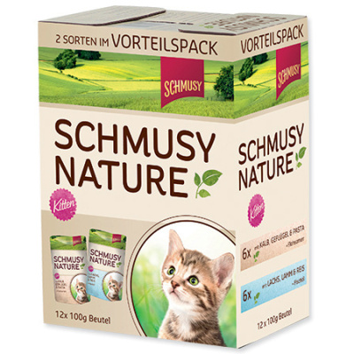 SCHMUSY Nature´s Menu Junior multipack 12x100g
