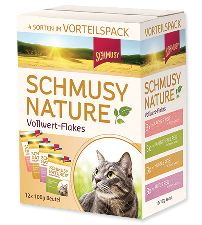 SCHMUSY Nature Flakes multipack 12x100g