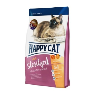 HAPPY CAT Sterilised Atlantik-Lachs 4kg
